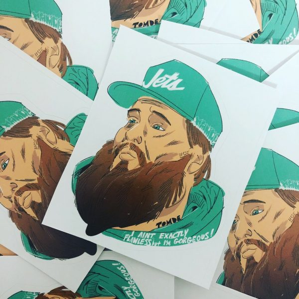 Action Bronson Stickers
