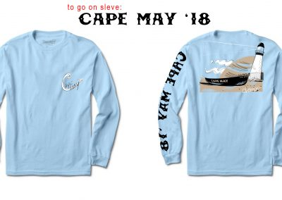 cape may light house tee 2018