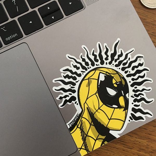 Wu-Tang Spiderman Sticker 2