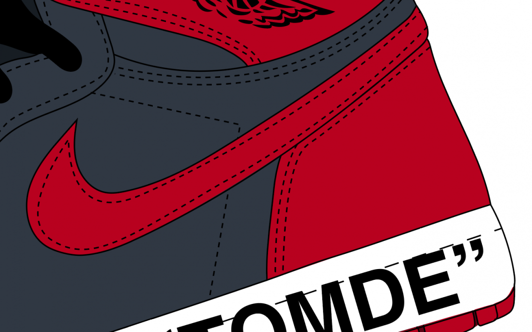 How to make realistic stitching in illustrator for sneakers (Chicago Air Jordan 1)