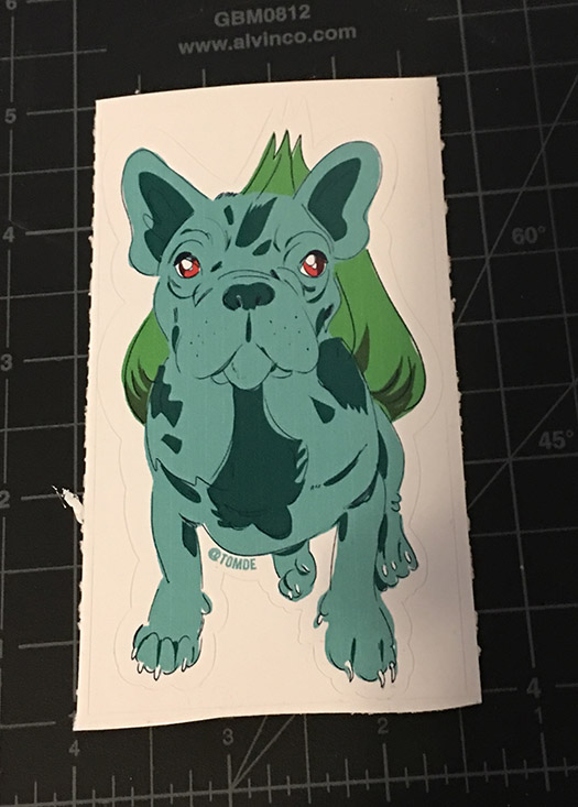 French Bulbasaur 1