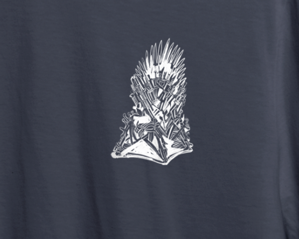 "Game of Thrones ""Iron Throne"" Tee Shirt 2"