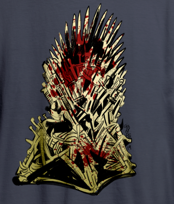 "Game of Thrones ""Iron Throne"" Tee Shirt 3"