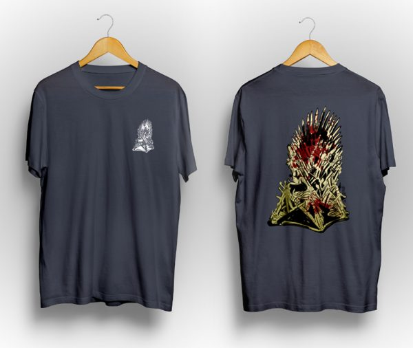 "Game of Thrones ""Iron Throne"" Tee Shirt 1"
