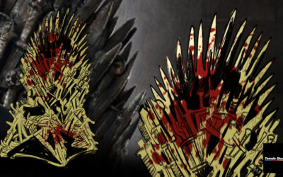 Game of Thrones Iron Throne – Sticker Design Steps