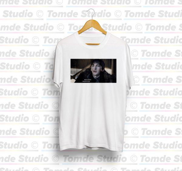 "Bran Stark ""Why do you think I came all this way?"" Tee Shirt 1"