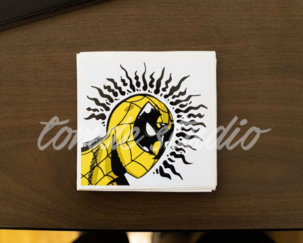 Wu-Tang Spiderman Sticker 1
