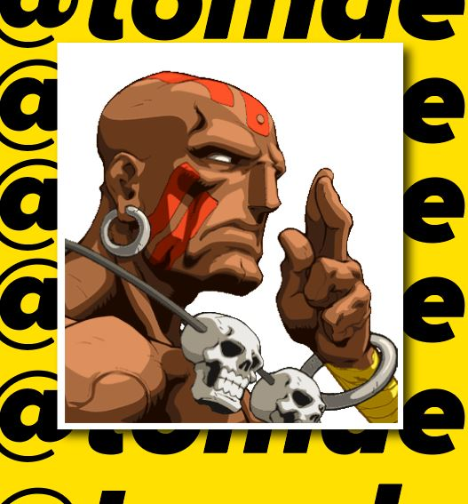 Street Fighter Character Portrait Stickers (Various) 12