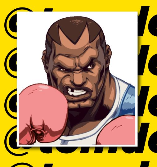 Street Fighter Character Portrait Stickers (Various) 6