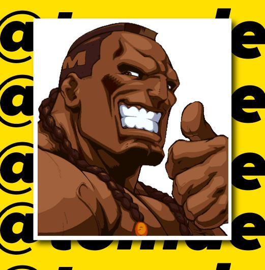 Street Fighter Character Portrait Stickers (Various) 13
