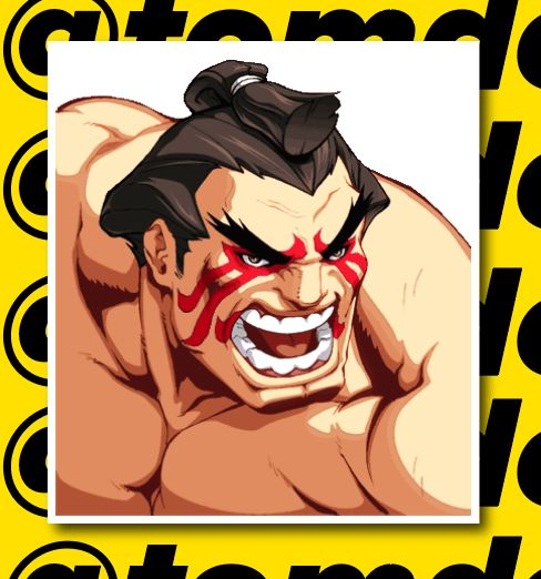 Street Fighter Character Portrait Stickers (Various) 11