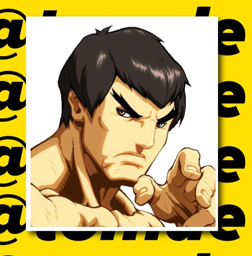 Street Fighter Character Portrait Stickers (Various) 10
