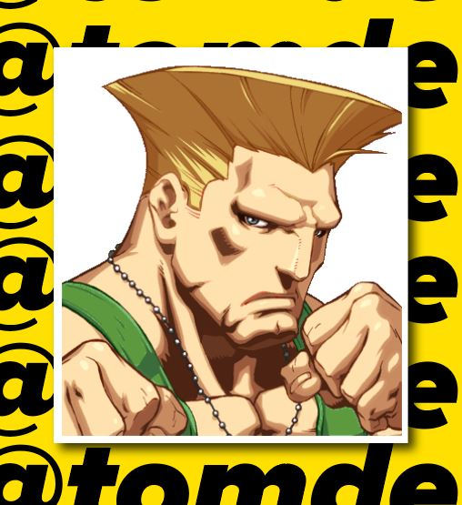 Street Fighter Character Portrait Stickers (Various) 9