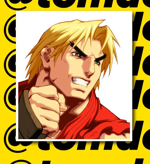 Street Fighter Character Portrait Stickers (Various) 8