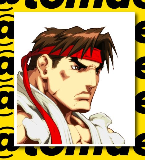 Street Fighter Character Portrait Stickers (Various) 5