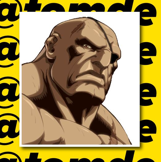 Street Fighter Character Portrait Stickers (Various) 4