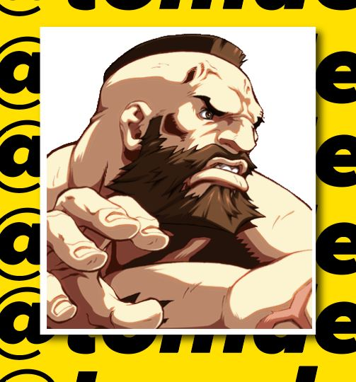 Street Fighter Character Portrait Stickers (Various) 16