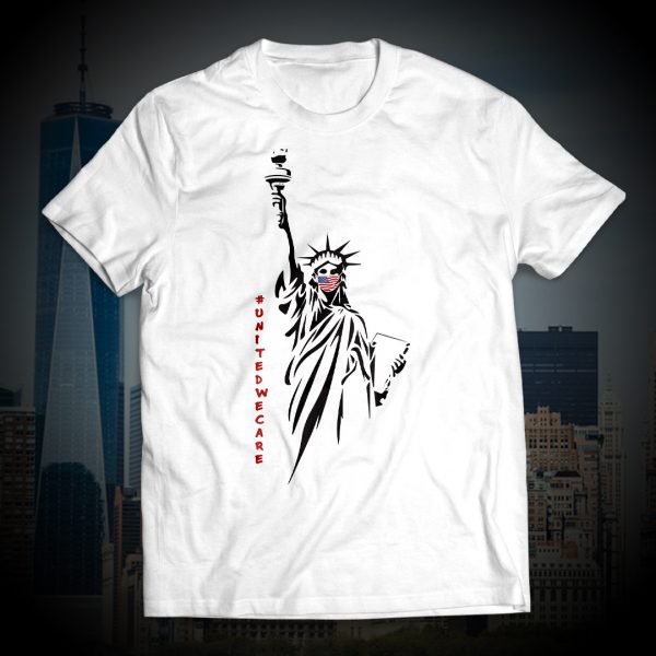 United We Stand Coronavirus Tee with NYC Mask Donation 2