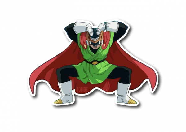 The Great Saiyaman Sticker DBZ