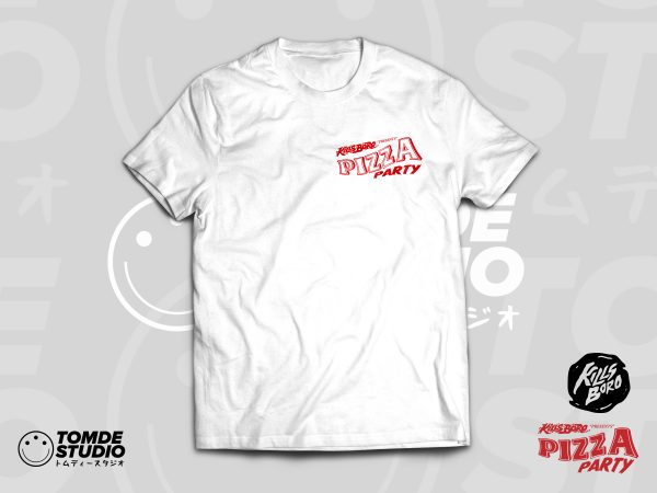 PIZZA PARTY! Event Tee 1