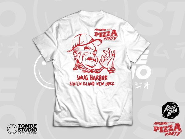 PIZZA PARTY! Event Tee 3