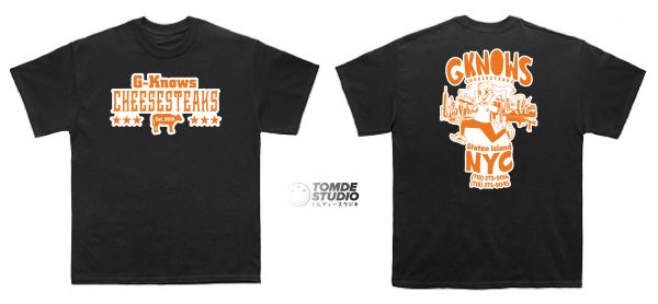G-Knows Food Truck Tee Shirts 1